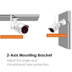 Image 2 - ANRAN 8 Channel 1080P HDMI WiFi NVR Kit 8PCS 2MP Full HD 36IR Leds Outdoor Weatherproof CCTV Camera System Wireless IP Camera
