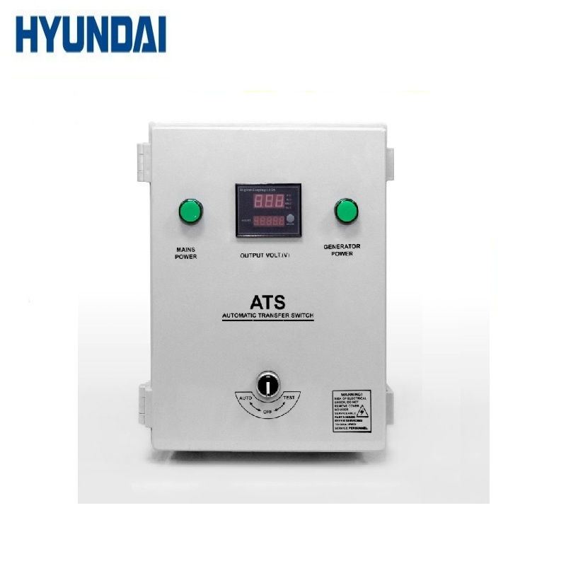 Automation unit ATS 10-220 HYUNDAI For backup (emergency) power Automatic Switching System Spare parts for generators