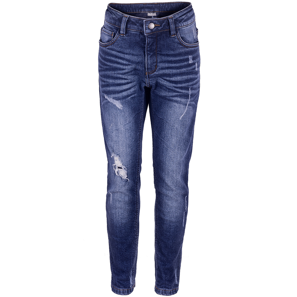 Jeans Gulliver for girls 21805GKC6402 Pants Children clothes Kids Leggings Suit summer boyfriend jeans for women hole ripped white lace flowers denim pants low waist mujer vintage skinny stretch jeans female
