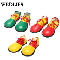 1 Pair Halloween Adult Clown Shoes Boots Comedy Fancy Costume Party Events Dress Decoration Shoes Accessories