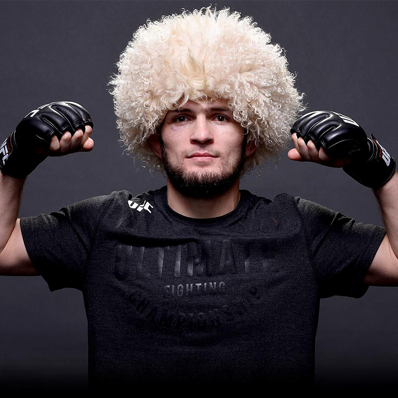 his cap Papaha the original Caucasian national etnic   headwear   papakha hat habib nurmagomedov 000-652