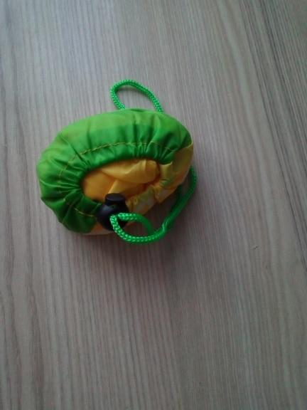 Various Fruit Strawberry Folding Reusable Grocery Shopping Bags Nylon Bag Large Capacity Shoulder Bag Handbag Travel Tote Eco photo review