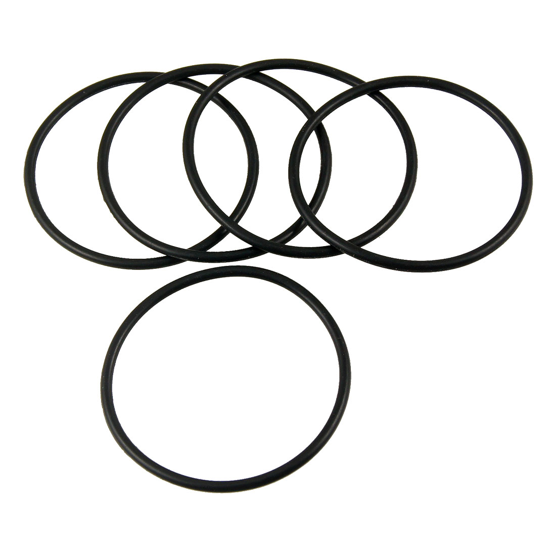 47.2 mm Inner Diameter 52 mm Outer Diameter 2.4 mm Wide O-Rings Nitrile Rubber Round Seal Gasket Pack of 20