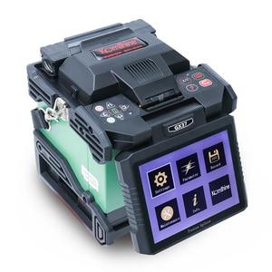 Image 2 - Komshine GX37 ftth fusionadora fibra البصري الربط آلة مع KF 52 جهاز تقطيع الألياف البصرية