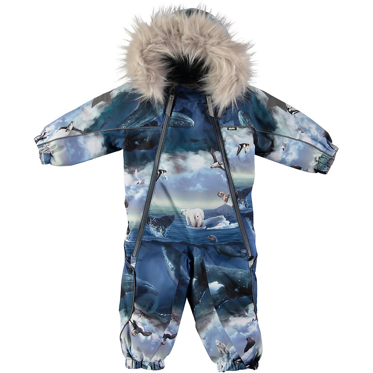 Overalls MOLO for boys 9170722 Baby Rompers Jumpsuit Children clothes Kids iyeal christmas baby girl rompers princess kids newborn clothes long sleeved spring autumn children infant clothing set
