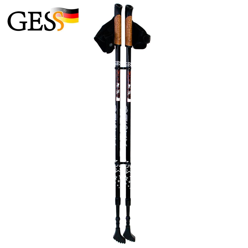 Basic Walker, Sticks for Nordic walking, walking sticks, sports, sporting goods, gift, GESS selfie sticks