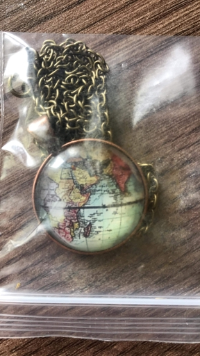 Traveller's Globe Pendant photo review