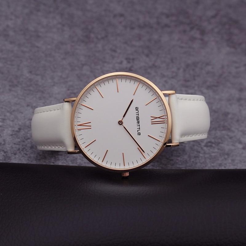 Люкс Brand Quartz Women Mesh Watches Men Жіңішке - Әйелдер сағаттары - фото 5
