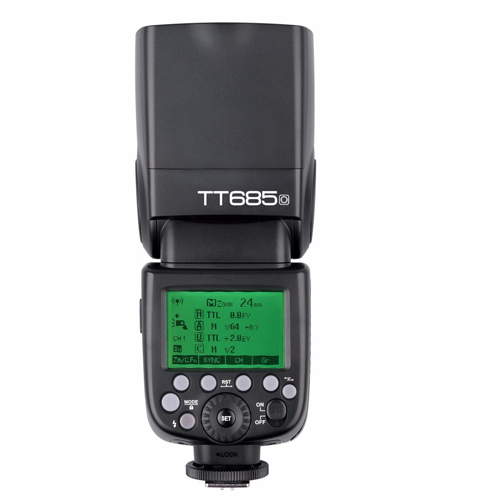 Godox TT685 TT685C TT685N TT685S TTL 2,4G Вспышка Speedlite высокоскоростная HSS 1/8000S GN60 для Canon Nikon Sony Olympus Fujifilm