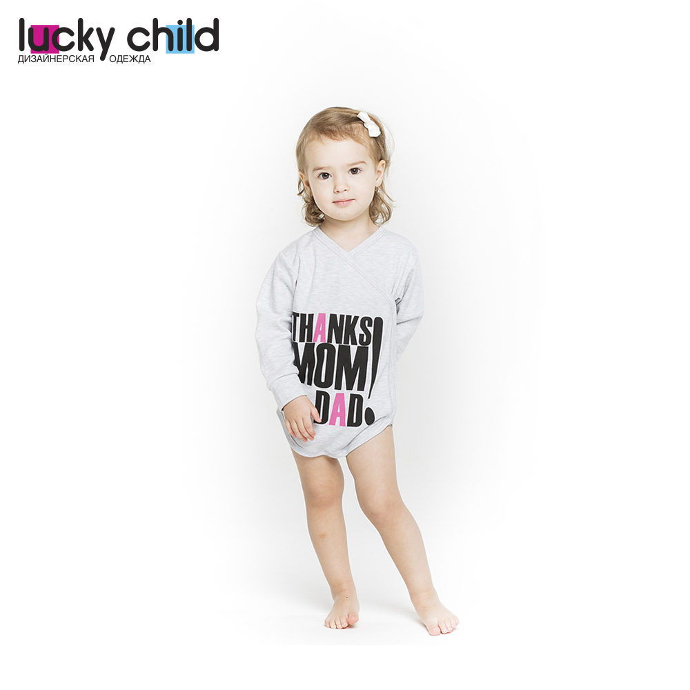 Bodysuits Lucky Child for girls 1-5Df Sport Body Newborns Babies Baby Clothing Children clothes tank tops made in russia