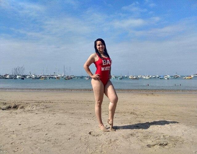Sexy Women One Piece Bikini Monokini Swimsuit Beach Backless Swimwear BeachWear women sports clothing swimming suit for woman