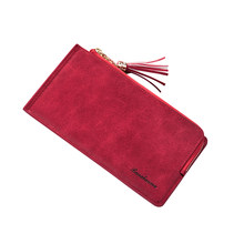 Women Faux Leather Wristlet Bag Coin Purse Zipper Wallet Cell Phone(China)