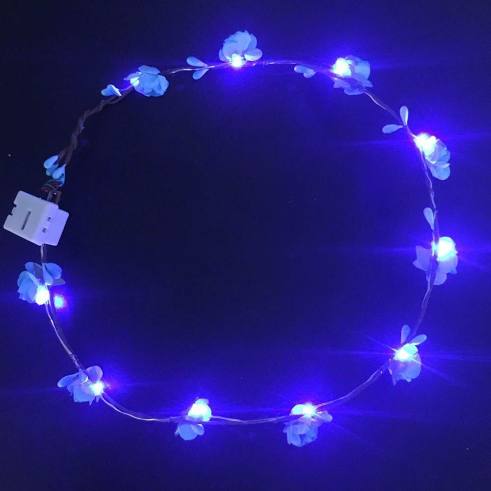 Light wreath headdress Children Toy veil flash wreath led rosette hot Kids Gift