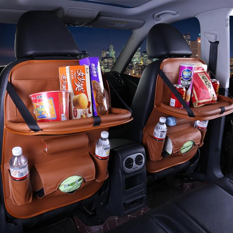 Car storage bag seat cover For Lada 2104 2107 Samara Kalina EL Lada Kalina Priora Niva Chevrolet Niva Granta Largus car styling