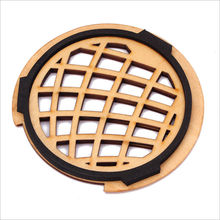 Acoustic Classical and Folk Guitar Wood Sound Hole Cover Anti-whistle Mute For Guitar Lovers Musical Parts & Accessories