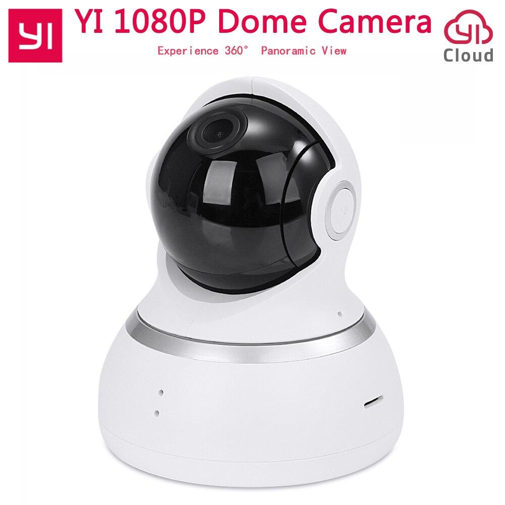 [Édition internationale] Xiaomi Yi 1080 p Caméra Dôme Pan-Tilt Contrôle 112 Grand Angle 360 voir Deux-way Audio YI Dôme IP Caméra