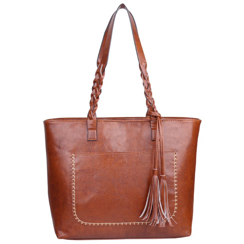 Arsmundi New Arrive Women Messenger Bags Fashion Handbags Bale Single Shoulder Tassels Casual Bag Large Capacity Tote Handbag
