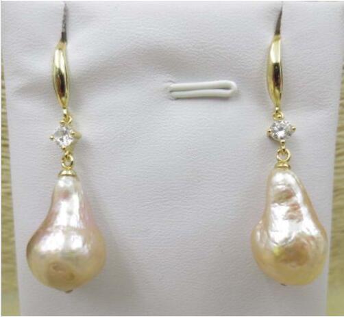 Boucles d'oreilles baroques en forme de goutte 12*18mm>>> boucles d'oreilles longues pour filles pour femmes livraison gratuite