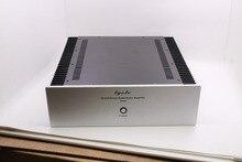 Q3 3 painel de alumínio chassis amplificador/preamp/classe a/radiador externo/amp gabinete/caso/caixa diy (320*100*300mm)