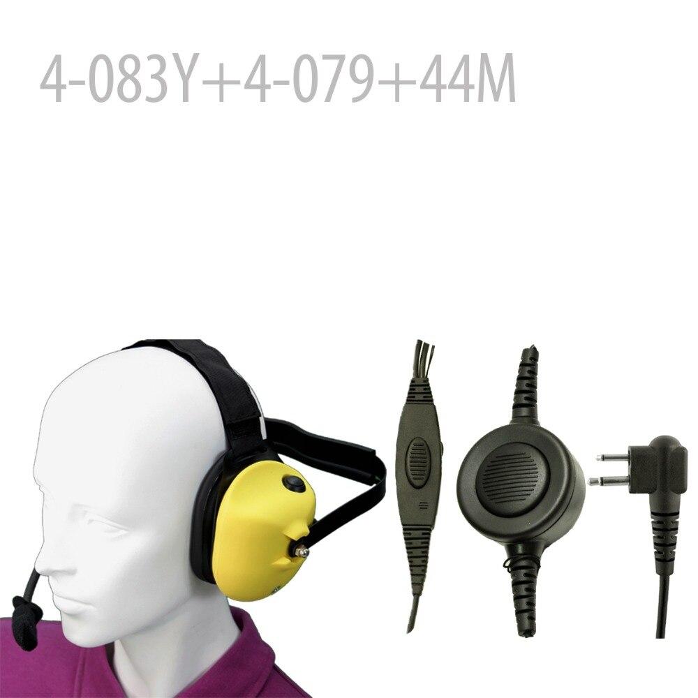 Heavy duty Noise reduction Headset(Y)+Mini Din Plug 44-M for CP88 CP100 CP150 CP200 CT150 CT250 FD-150A  FD-160A FD-460A  Heavy duty Noise reduction Headset(Y)+Mini Din Plug 44-M for CP88 CP100 CP150 CP200 CT150 CT250 FD-150A  FD-160A FD-460A