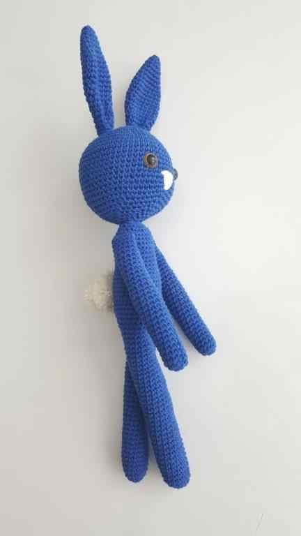 CROCHET PATTERN Bunny plush toy - Amigurumi pattern rabbit ... | 768x432