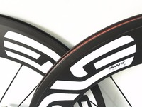 Taiwan Factory Carbon Clincher Wheelset 88mm 700c Carbon Cycling Wheels / 60mm Bicycle Wheel / Bike Wheel For Road