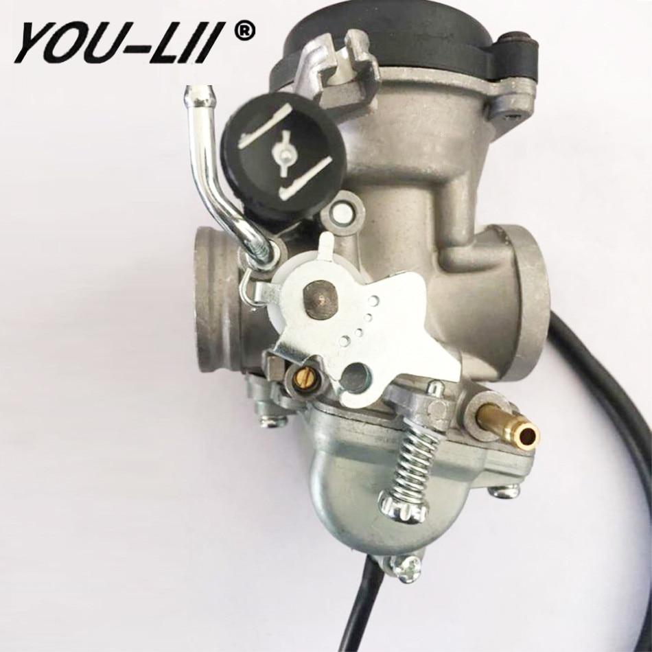 YOULII Free shipping New Carburetor Carb for Suzuki GN125 1994 - 2001 GS125 Mikuni 125cc EN125 GN125E 26mm