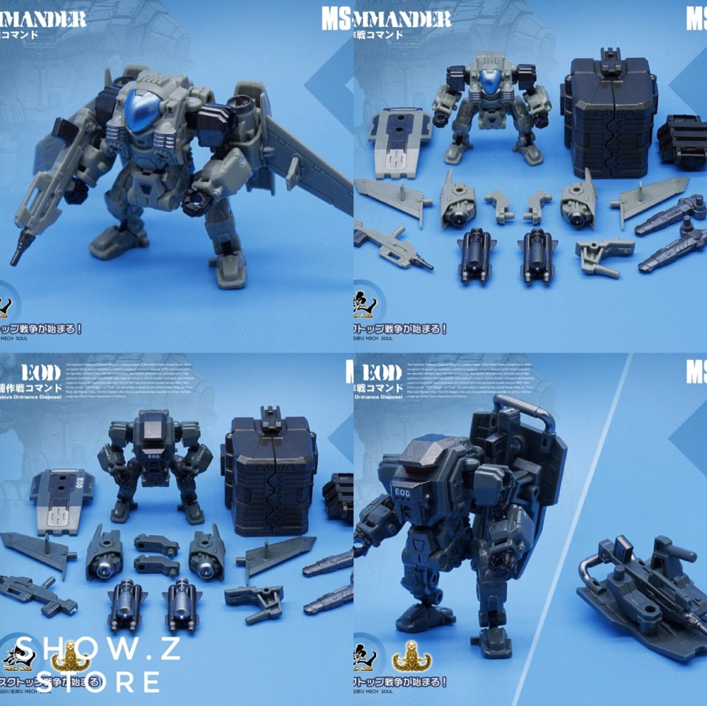 MFT Diaclone MS14 //15 Space Marines Commander EOD Transformer New Robot
