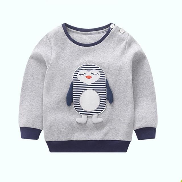 c951e70970 Kinder winter t-shirt kleinkind mädchen jungen langarmshirts t-shirt  mädchen kleidung t-