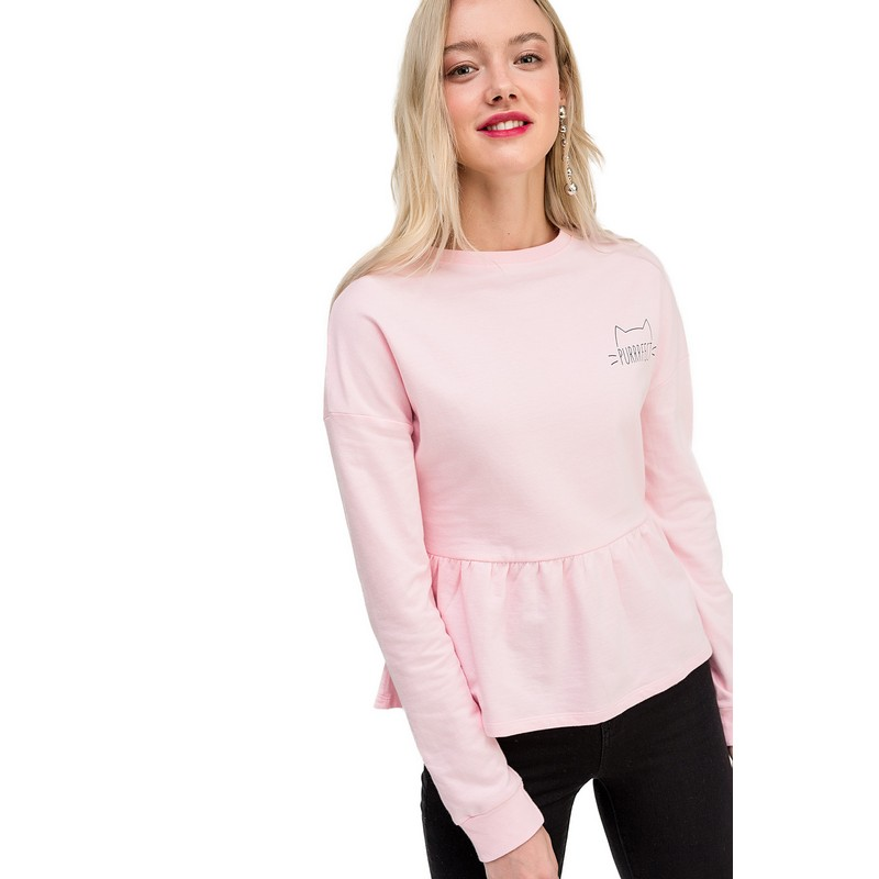 Sweaters jumper befree for female cotton sweater long sleeve women clothes apparel  turtleneck pullover 1811238452-90 TmallFS
