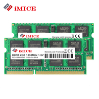 IMICE Notebook Memory DDR3 2GB 4GB 1333MHz 1600MHz PC3 10600S 1 5V SO DIMM RAMs For
