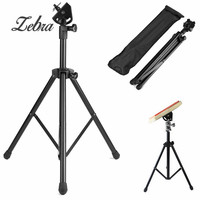 Adjustable Metal Practice Training Three Legged Drum Pads Cymbal Stand Hardware Mount Braced Drum Holder Tripod