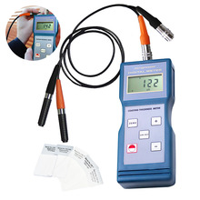 F NF Probe Coating Thickness Meter Magnetic Induction & Eddy Current Enamel Iron 0-1000um /0-40mil Range