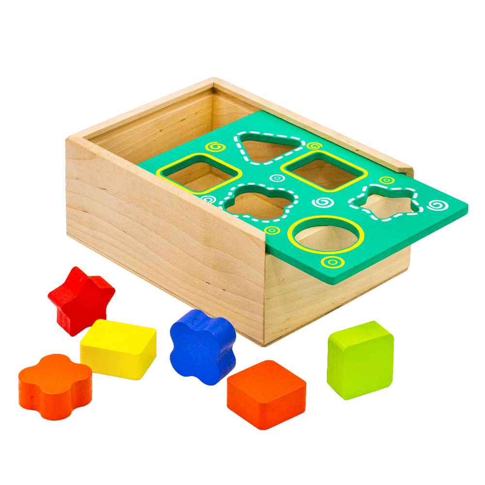 Magic Cubes Alatoys COR02 play building block set pyramid cube toys for boys girls abc magic cube shape coin storage box