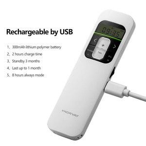 Image 4 - Kablosuz Sunum Şarj Edilebilir Sunum Uzaktan ile lcd ekran 2.4 GHz USB Noktası PPT Clicker Uzaktan Kumanda Fare