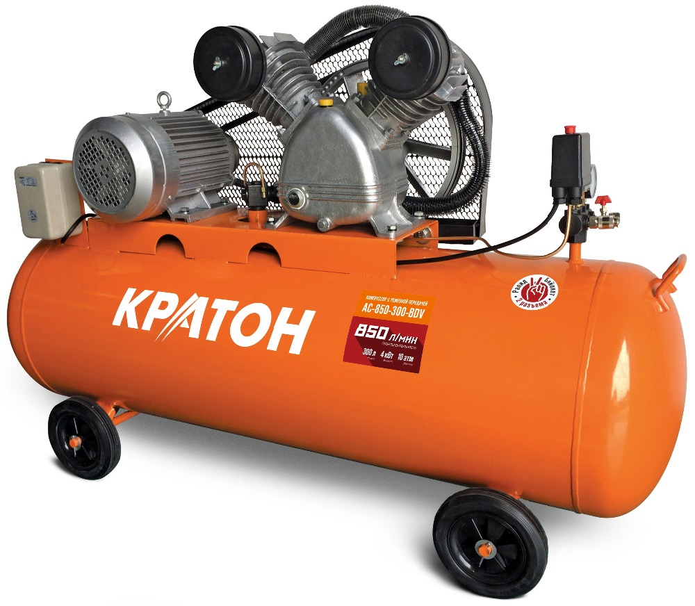 Compressor KRATON with belt transmission AC-850-300-BDV 3d домашний кинотеатр sony bdv e6100