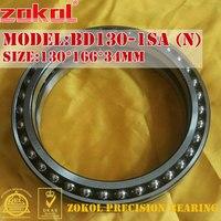 ZOKOL bearing BD130 1SA (N) Excavator walking bearings BD130 1SA Thin wall Double row bearings 130*166*34mm