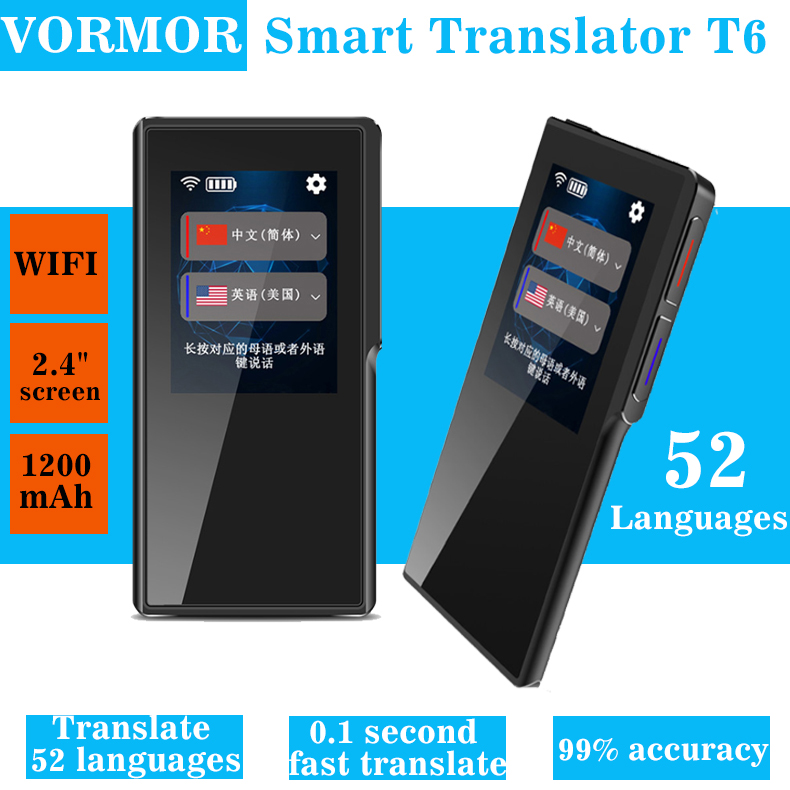New arrival voice translator WIFI & Hotspot Touch screen Translation pen Long standby image