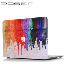 Oil painting series Painting Case for Macbook Air 11 13 Pro 13 15 inch Colors Touch Bar Wood Laptop Cover Shell 12 15 inch