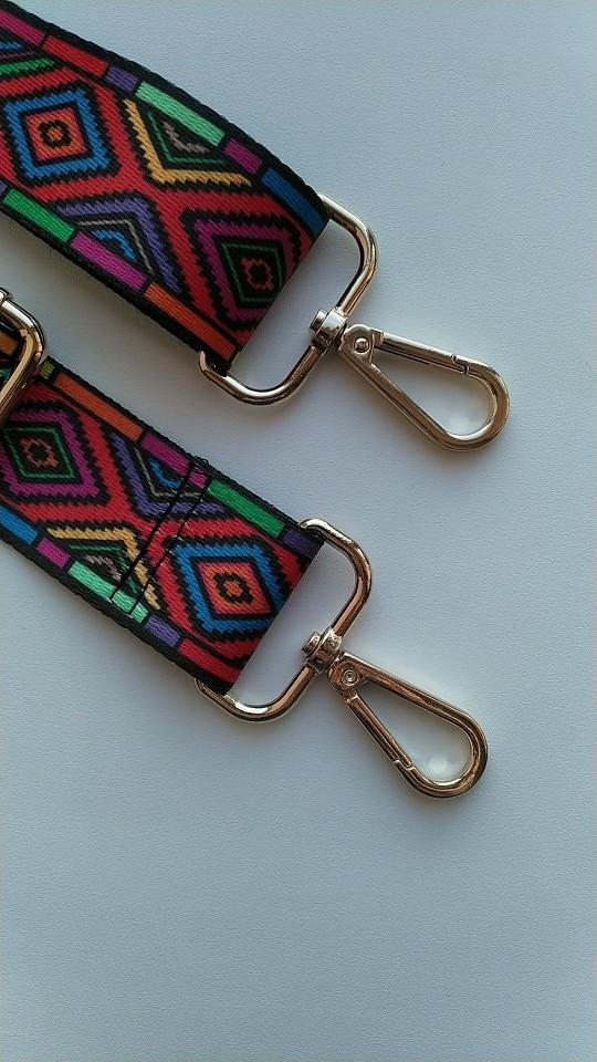 Nylon Colorful Bags Strap Belt Fashion Accessories Man Women Adjustable Shoulder Hanger Handbag Strap Decoration Handle Ornament photo review