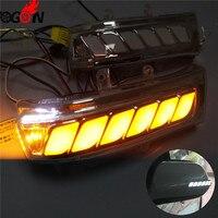 For Toyota Sienna Highlander RAV4 Vanguard Previa Alphard Noah Voxy 2007 13 LED Side Mirror Sequential Dynamic Turn Signal Light