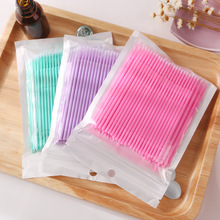 1000pcs/pack Disposable Makeup Brushes Swab Microbrushes Eye