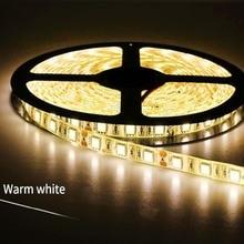 LAIMAIK LED Strip Light  with self Adhesive DC12V 5m 300LEDs/Lot Ribbon Tape SMD5050 RGB for Home Lighting RGBW