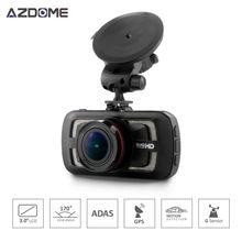 Azdome DAB205 A12 Ambarella Cámara Del Coche DVR 2560*1440 P Grabador de Vídeo 3.0 pulgadas LCD Dash Cam g-sensor de la lente de 170 grados ADAS GPS H35