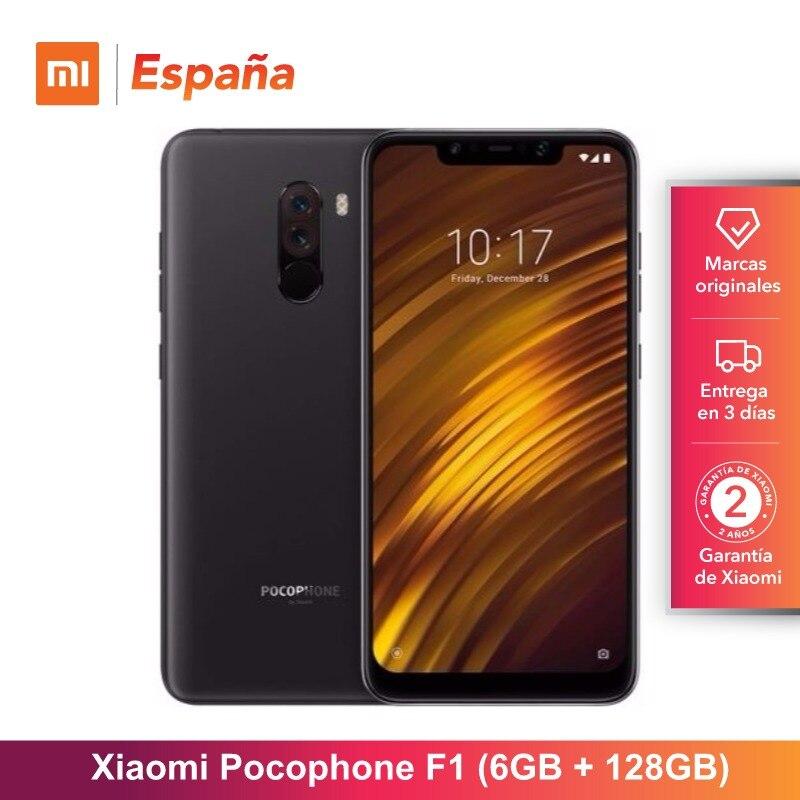 Global Version for Spain Xiaomi Pocophone F1 Memoria interna de 128GB RAM de 6GB Camara