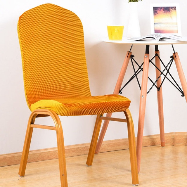 Dinning Chairs Covers Slipcover Chair Cover For Wedding Restaurant Home Chair  Covering Seat Protective Case Solid