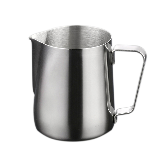150ml 1000ml Stainless Steel Milk Frothing Jug Latte Pourer Cuccino Coffee Silver