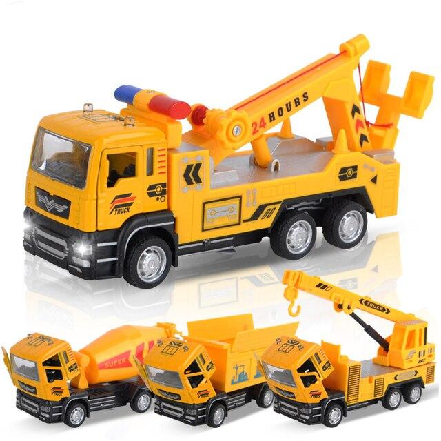 Vehículos De Eva2king Coches Mini Aleación Nuevo Ingeniería Camión Juguetes Para Oyuncak Niños Vehículo Tractor Construcción Modelo Juguete PZiuXOk
