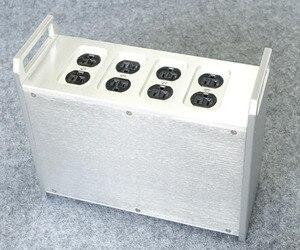 Image 2 - BZ312B シルバー電源ボックスアメリカ標準 Psu シャーシハイファイ PSU エンクロージャ DIY ケース