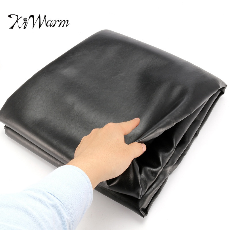 KiWarm Newest 255cm X 132cm Universal Rubber Waterproof Dustproof Cover For Pool  Billiard Table Billiard Cover Table Cover Cloth